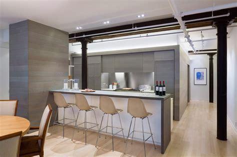 Meatpacking Loft: kitchen   Modern   Kitchen   new york