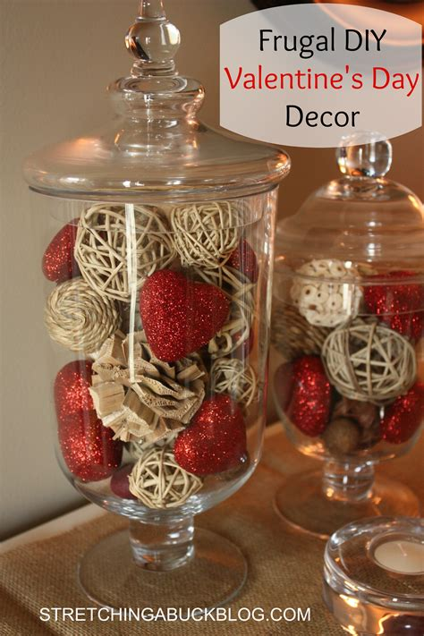 diy valentines decorations 11 frugal diy valentine s day decor ideas stretching a