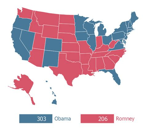us general election 2012 map 2012 united states presidential election results