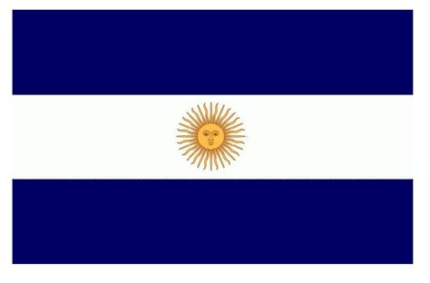 imagenes de las banderas historicas de la argentina colores de la bandera nacional argentina azul y blanca