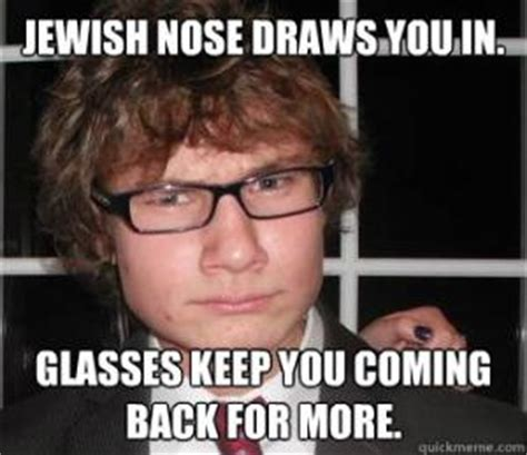 Big Nose Meme - jewish nose jokes kappit