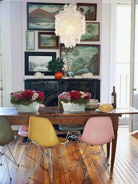 eclectic dining room chairs 165 and 25 eclectic dining room design and decorating