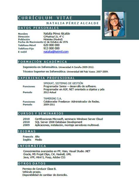 Modelo Curriculum Vitae Ingeniero Telecomunicaciones Cv De Ingeniero Licenciado Informatica Sistemas Telecomunicaciones It Arquitecto Industrial