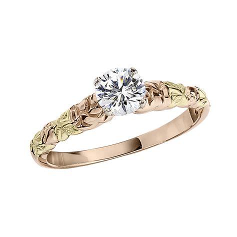 gold engagement ring settings die struck mountings
