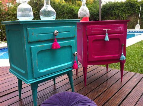 laras para buro vintage vintouch muebles reciclados pintados a mano mesa de