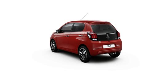 peugeot rental scheme new peugeot 108 hatchback 1 0 collection 5dr robins and day