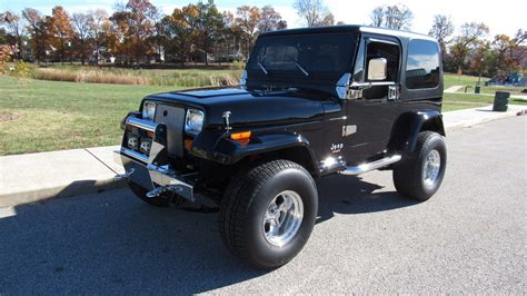 1991 Jeep Wrangler Top 1991 Jeep Wrangler 350 Ci Removable Top Lot S59