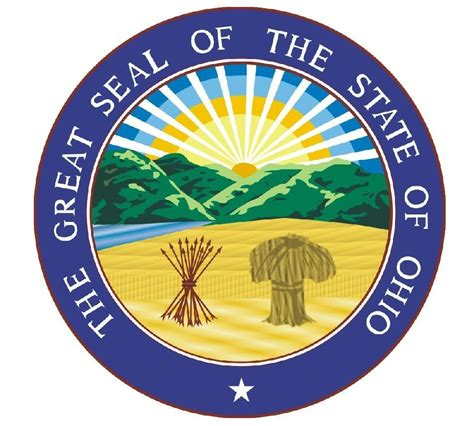 Seal Sticker Made ohio state seal sticker made in the usa r552 ebay