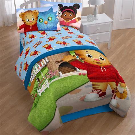 daniel tiger bedding disney daniel tiger treehouse pals 3 piece sheet set