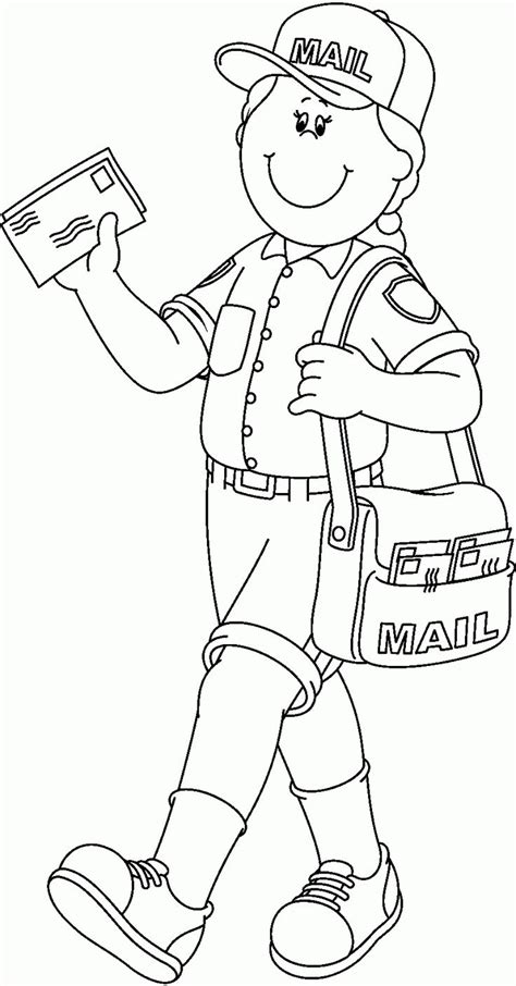 coloring pages community helpers preschool 18 best community helpers images on pinterest community
