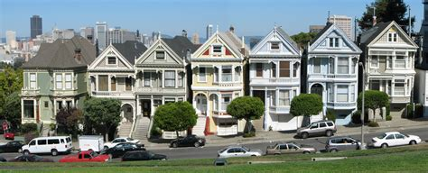 Chalet Style House by File Painted Ladies Alamo Square Jpg Wikimedia Commons
