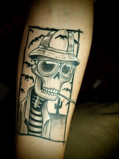 hunter s thompson tattoo strange and wonderful s thompson inspired tattoos