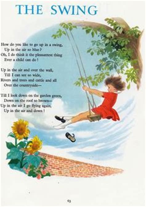 the swing poem by robert louis stevenson 1000 images about robert louis stevenson on pinterest