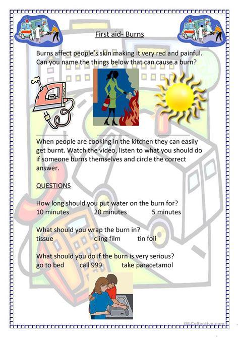Worksheet On Aid by Aid Burns Worksheet Free Esl Printable