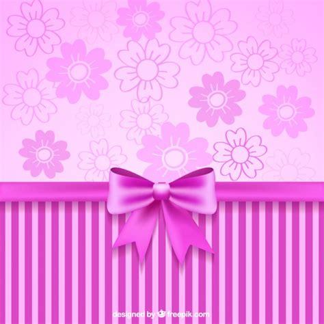 wallpaper ribbon cute pink ribbon and decorative wallpaper vector free download