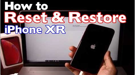 how to reset restore apple iphone xr factory reset forgot passcode iphone is disabled fix