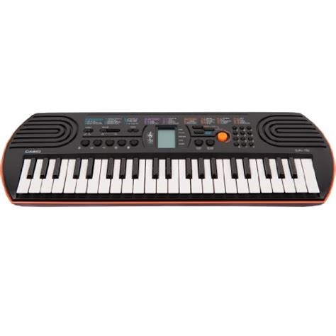 Keyboard Casio Sa 76 casio sa 76 44 key mini keyboard orange review crossing