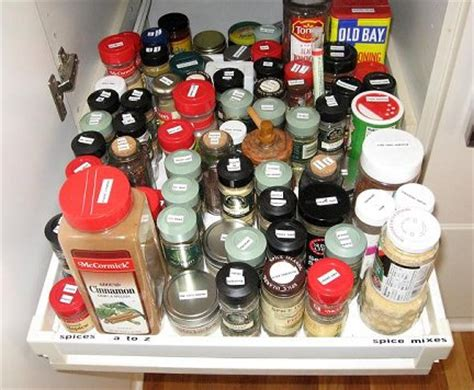 how to organize spice how to organize herbs and spices whats cooking america