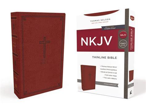 nkjv thinline bible large print imitation leather blue pink letter edition comfort print books nkjv thinline bible imitation leather of 24
