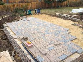 home depot patio pavers knotical patio progress part 4