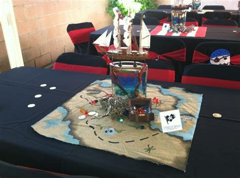 pirate ship centerpieces with water isaac s amazing
