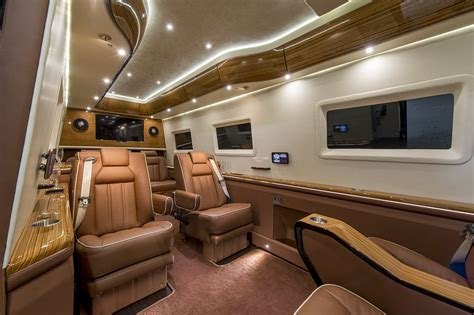 Mercedes Sprinter Custom Interior by Mercedes Sprinter Vip Limousine Inkas Professional