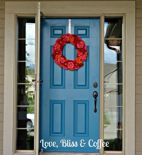 blue front doors blue front door love it pinterest