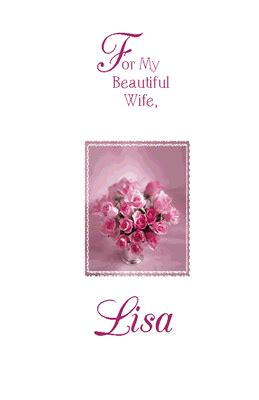 beautiful wife greeting card happy birthday