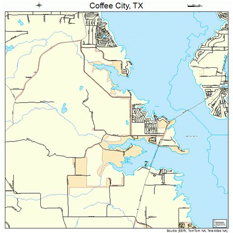 where is texas city tx on a map coffee city texas map 4815820
