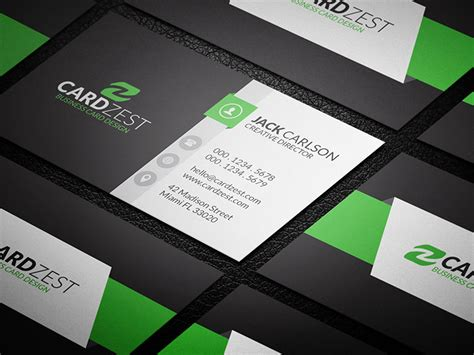 modern cards hip and trendy modern business card template 187 cardzest
