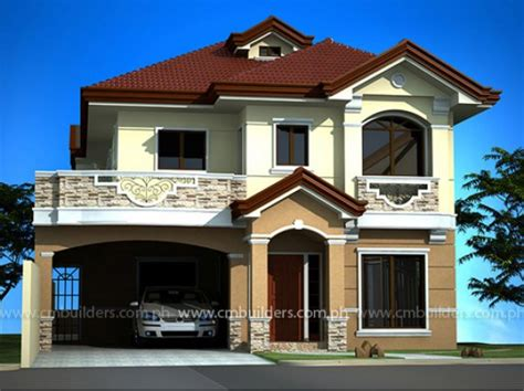 home design philippines style mediterranean house design cm builders