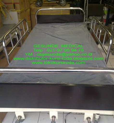 Tempat Tidur Besi Pasien jual tempat tidur rs seken 3 crank bed pasien bekas 3 engkol manual second murah toko