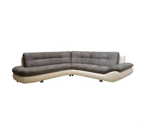 canapé angle gris et blanc faience