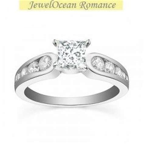 0 5 carat princess cut cheap engagement ring on