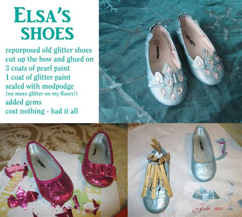 diy elsa shoes elsa s shoes from frozen diy by tallterror on deviantart