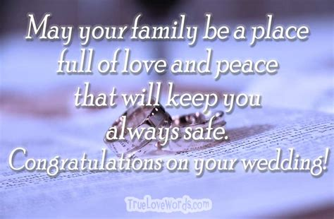 Wedding Congratulations Words Of Wisdom by Wedding Wishes And Happy Married Messages 187 True