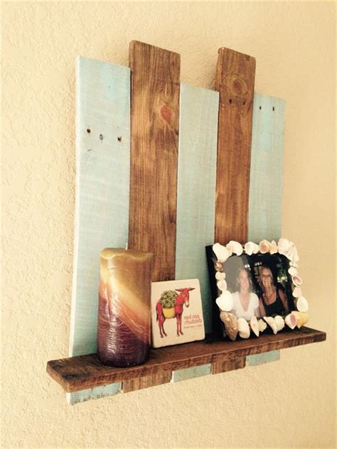 decorative shelf ideas diy pallet decorative wall shelf pallets designs