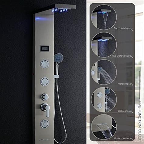 pannello doccia multifunzione obeeonr multifunzione colonna doccia idromassaggio
