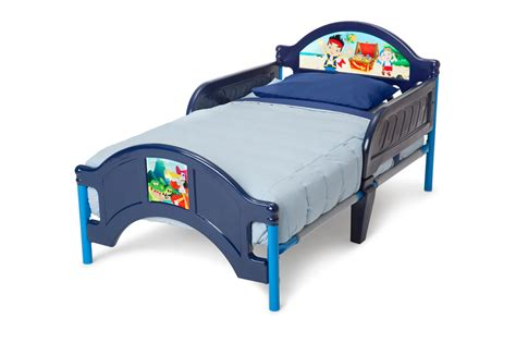 jake and the neverland pirates toddler bed little ones can climb aboard with delta s jake and the