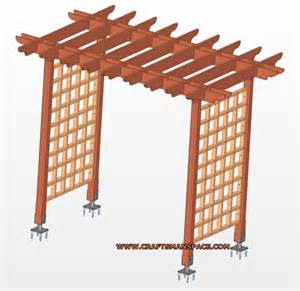 Garden Trellis Plans Is About Garden Arbor Plans Building A Simple Garden Arbor