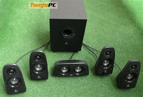 Speaker Aktif Logitech Z506 recenzja g蛯o蝗nik 243 w 5 1 logitech surround sound speakers z506 wygl艱d z506 i dane techniczne
