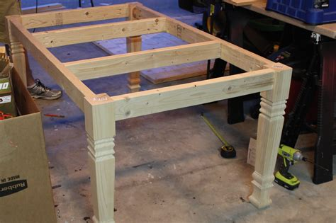 Woodworking Plans Mission End Table by Diy Farmhouse Table Free Plans Rogue Engineer
