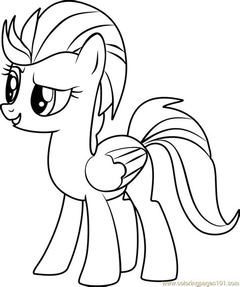 my little pony lightning dust coloring pages lightning dust coloring page free my little pony
