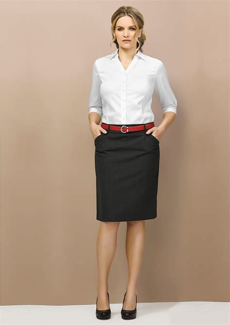 Office Wear comfortable wool stretch office wear suiting for this dress is featuring side