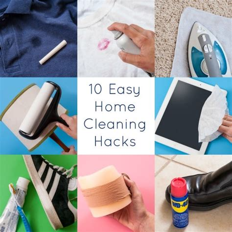 cleaning house hacks 18 amazing household cleaning tips diy candy