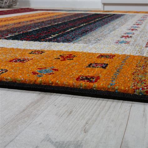 teppich rot gemustert designer teppich modern loribaft nomaden bord 252 re gemustert