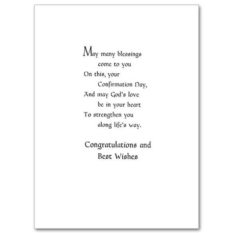 On Your Confirmation: Confirmation Card