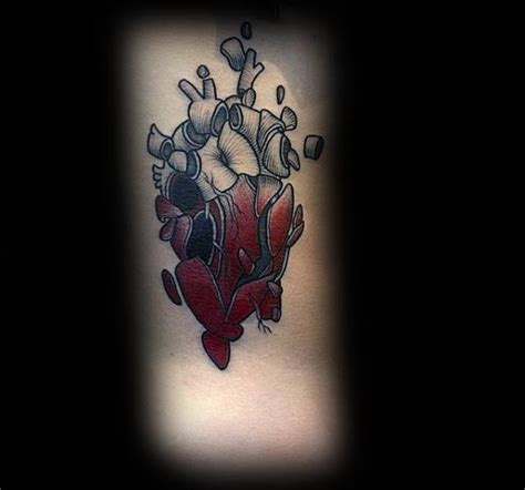 split tattoo designs collection of 25 3d broken on arm