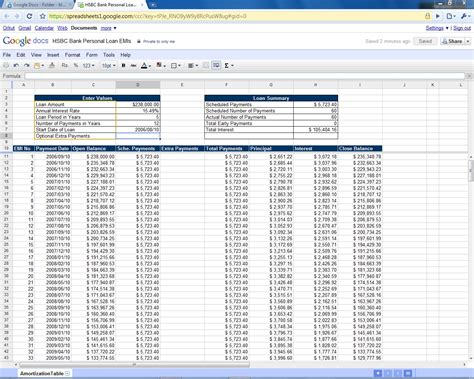 how to a calculation table in excel loan repayment calculator excel formula loan agreement