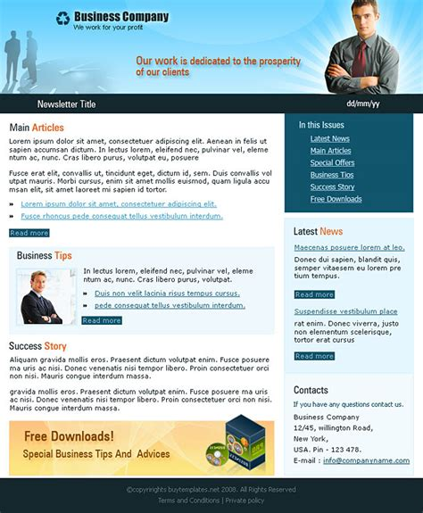 company newsletter template business newsletter corporate business newsletter clean